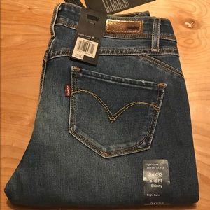 """Levi's """"Revel"""" Slight Curve Skinny Jeans 24x32"""